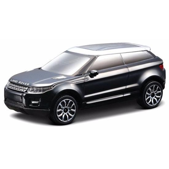 Modelauto Land Rover LRX zwart 1 43 Bburago Speelgoedvoertuigen