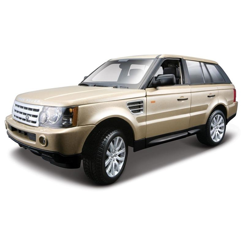 Speelgoedvoertuigen Bburago Modelauto Land Rover Range Rover Sport 1 18