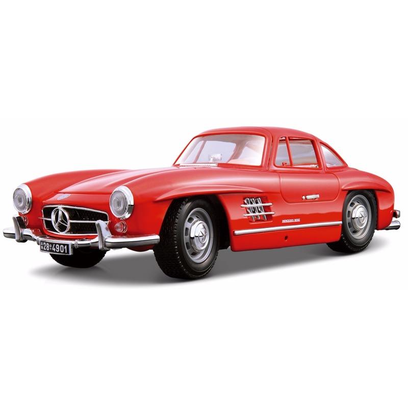 Speelgoedvoertuigen Modelauto Mercedes 300SL Coupe 1 18
