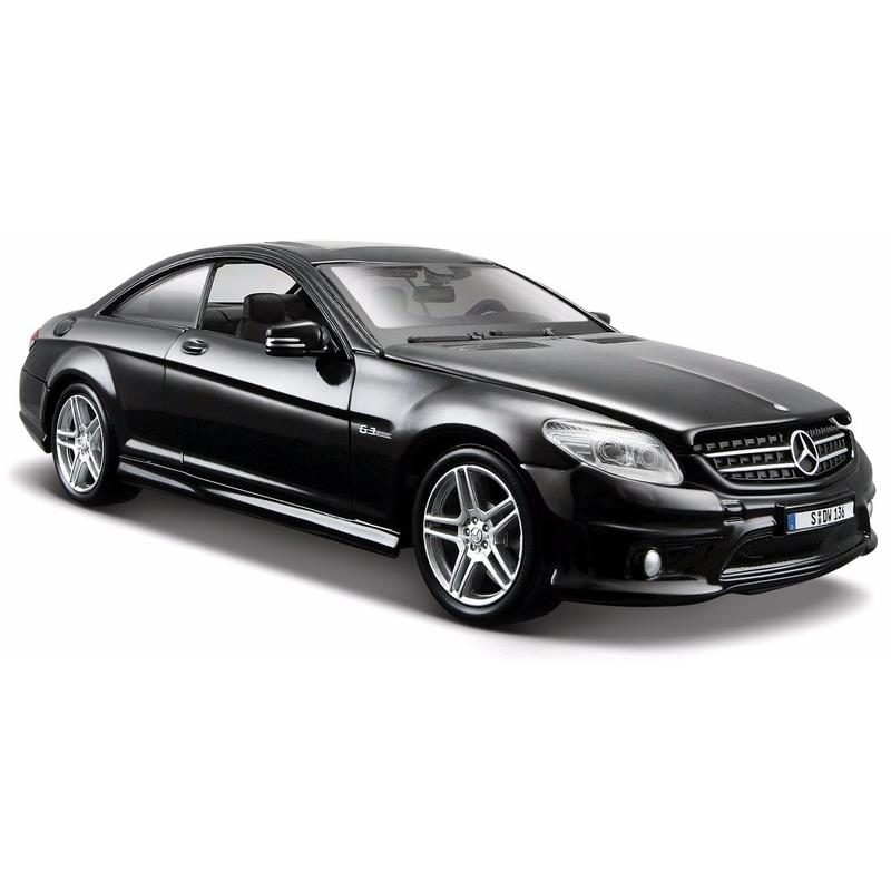Speelgoedvoertuigen Maisto Modelauto Mercedes CL63 AMG 1 24