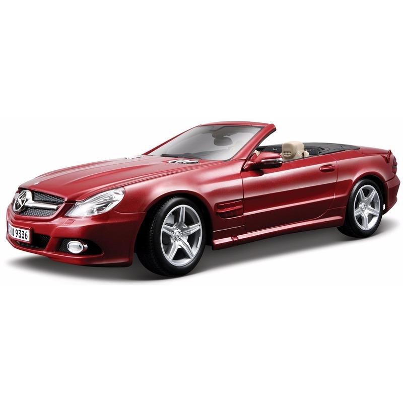 Modelauto Mercedes SL550 1 18 Bburago Speelgoedvoertuigen