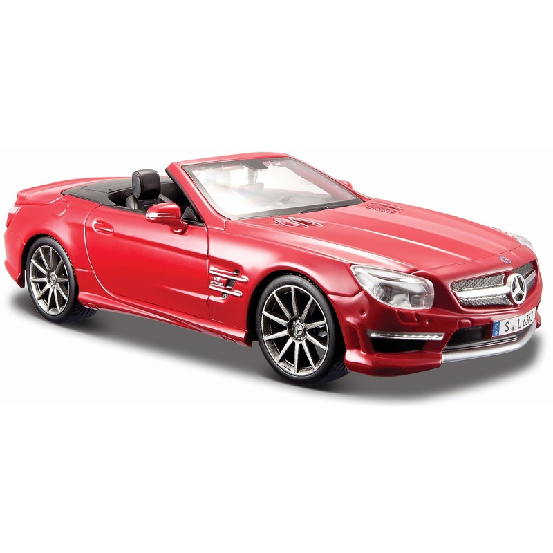 Speelgoedvoertuigen Maisto Modelauto Mercedes SL63 AMG 1 24