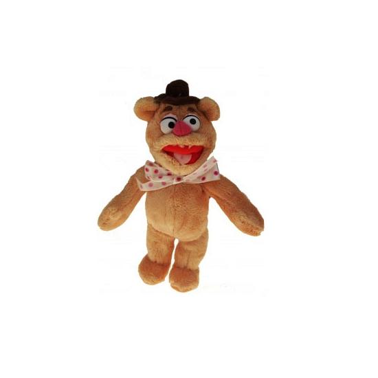 Muppet knuffeldieren Fozzie de beer 35 cm