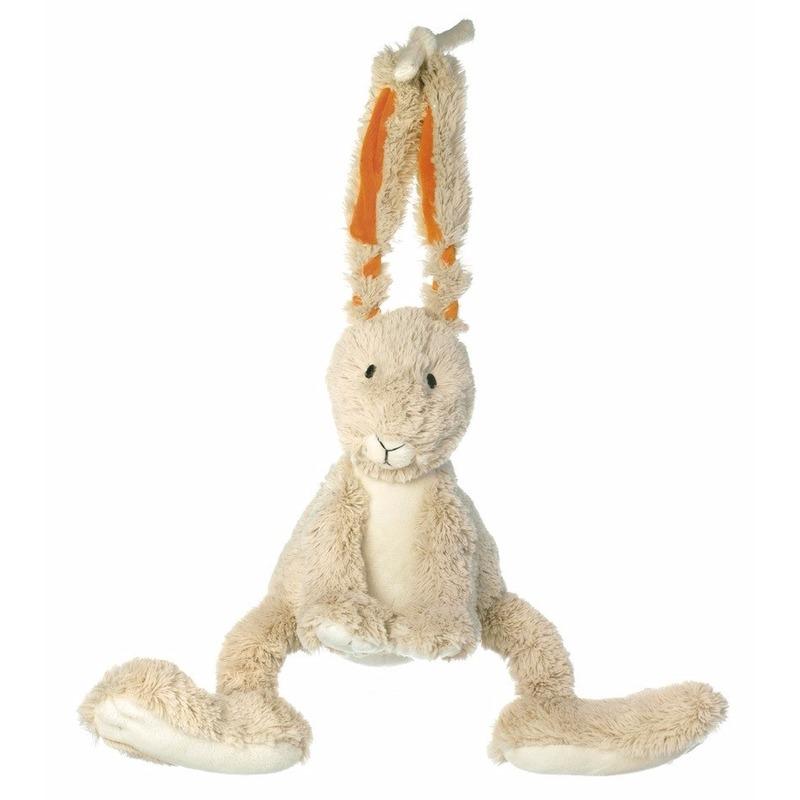 Muziekdoos konijn knuffel 26 cm