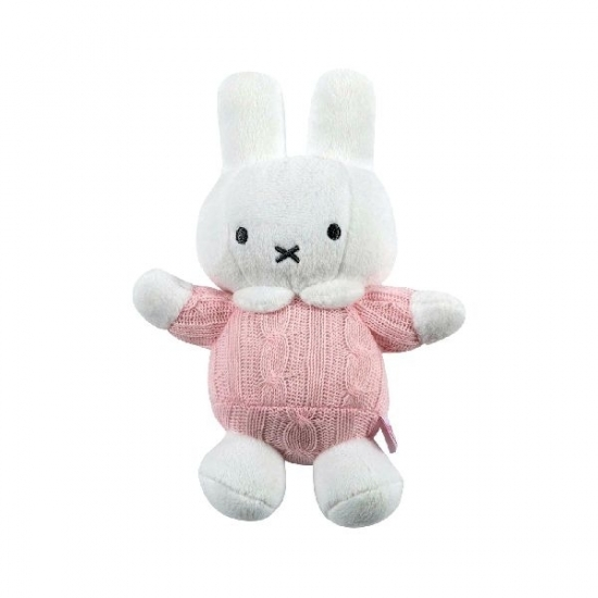 Nijntje knuffel roze 18 cm