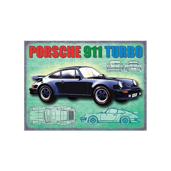 Nostalgische platen Porsche 1956 Geen Feestartikelen diversen