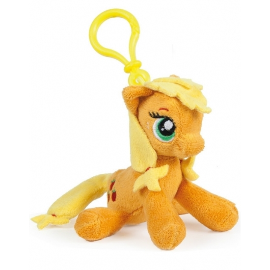 Oranje Applejack My Little Pony knuffeltje 12 cm