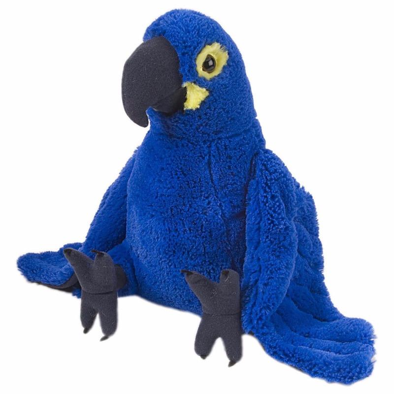 Papegaaien knuffels 30cm