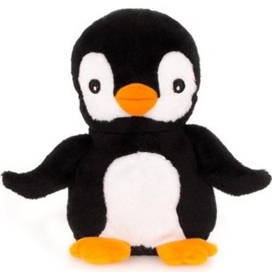 Pinguins knuffel kruik geboorteknuffel 23 cm