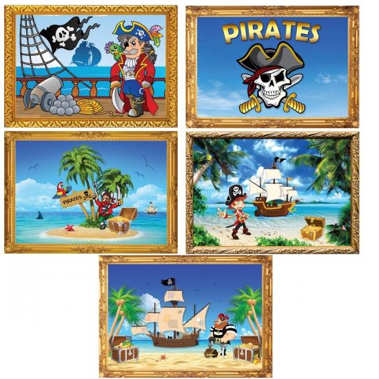 Piraat feestje posters Fun Feest party gadgets Thema feestartikelen