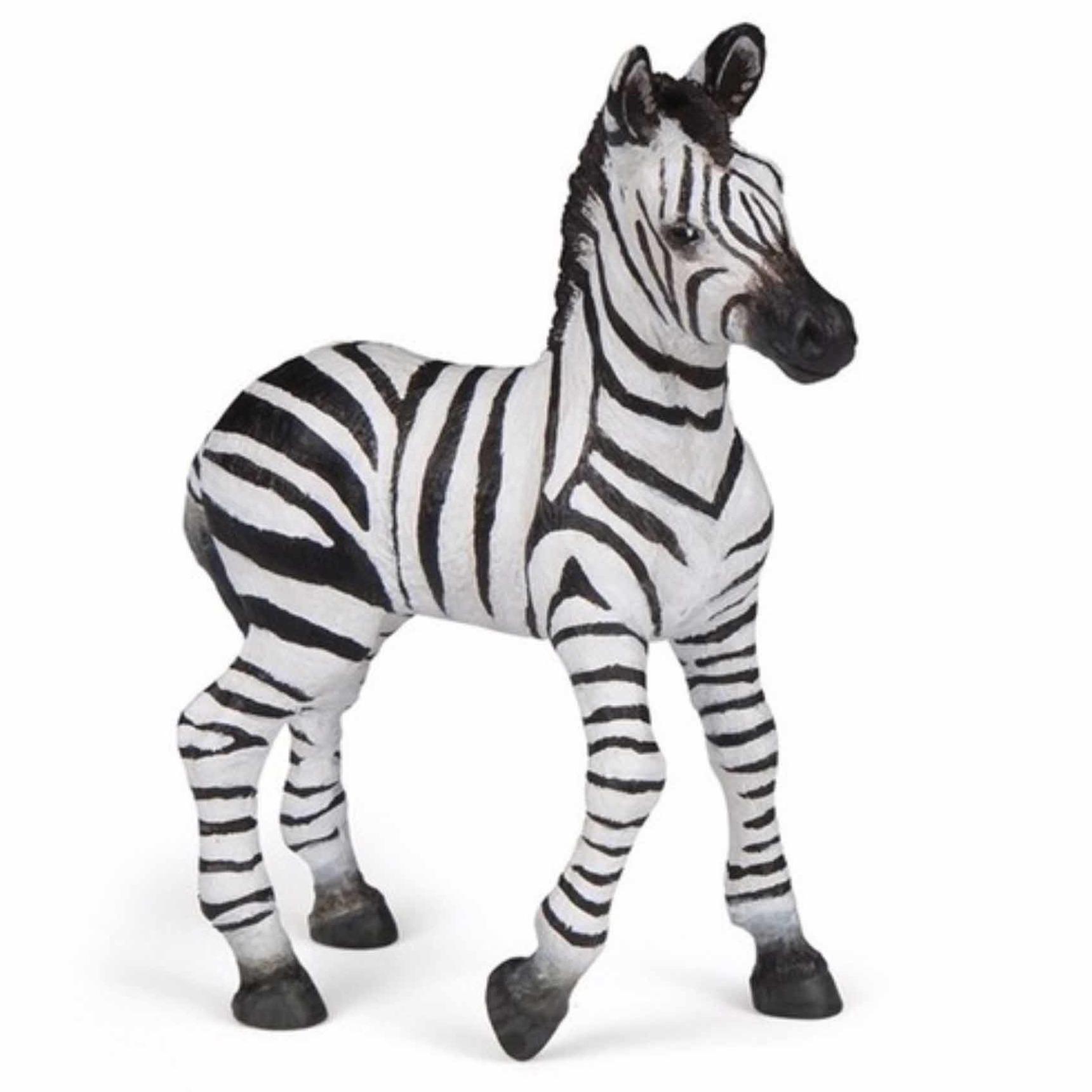 Papo Plastic baby zebra 9 cm Speelfiguren sets