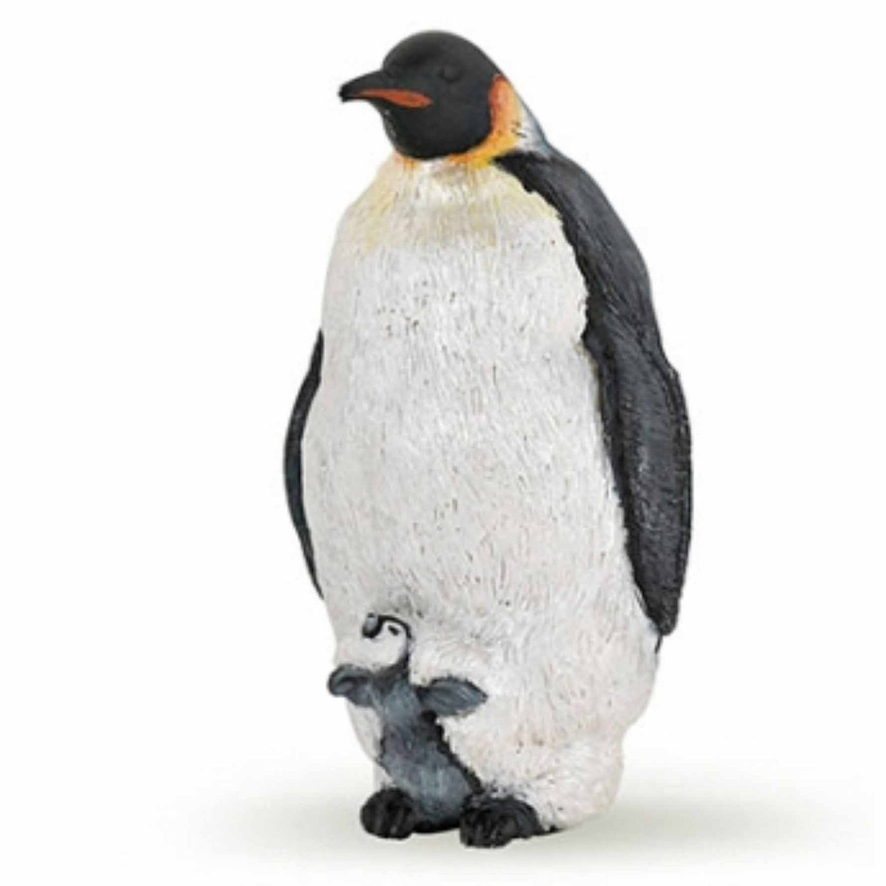 Speelfiguren sets Papo Plastic keizer pinguin 4 cm