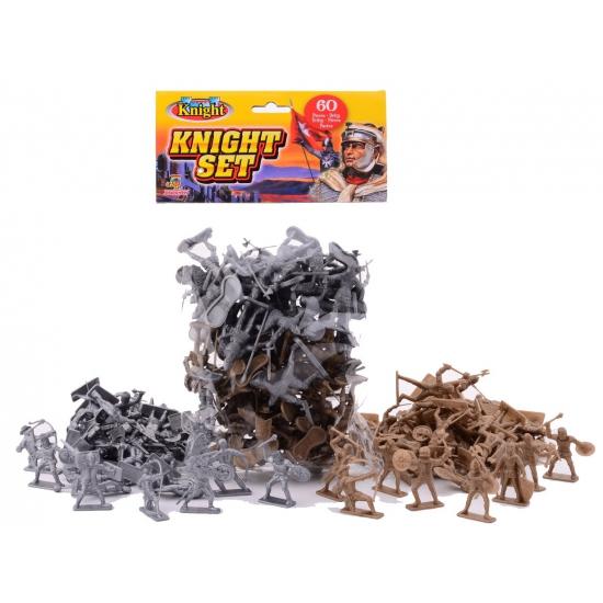 Speelgoed diversen Geen Plastic ridder speelset 60 delig