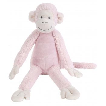 Pluche aap Mickey roze 32 cm