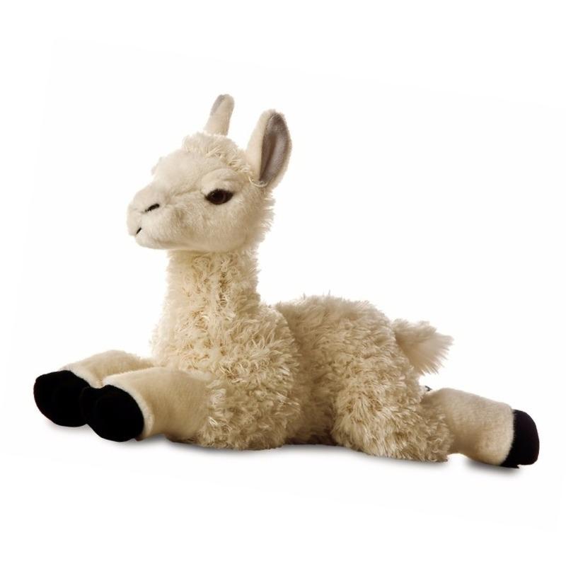 Pluche alpaca/lama knuffel 29 cm