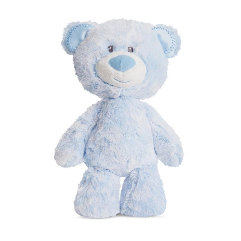 Pluche blauwe beren knuffel 29 cm