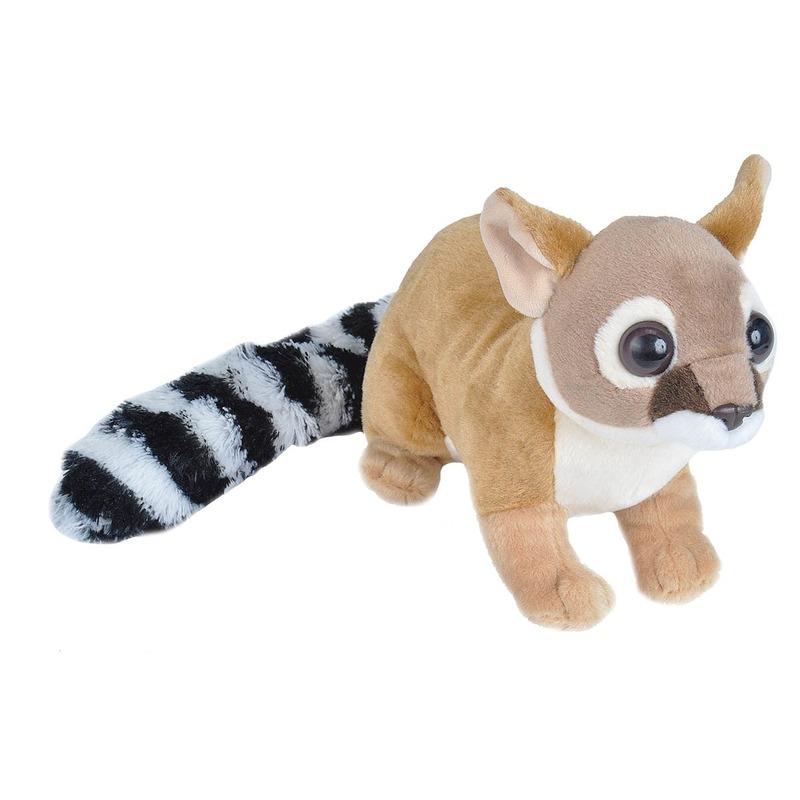 Pluche bruine katfret knuffel 35 cm speelgoed