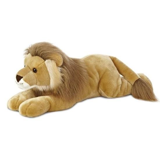 Pluche bruine leeuw knuffel 70 cm speelgoed