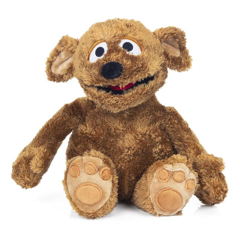 Pluche bruine Tommy Sesamstraat knuffel 38 cm