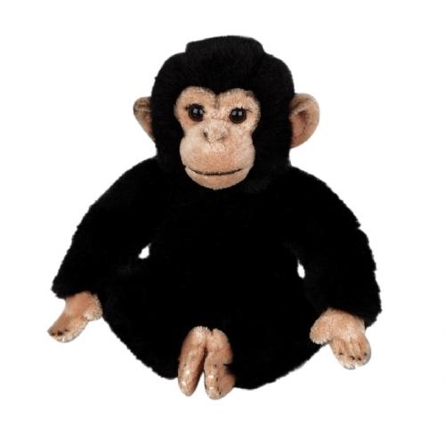 Pluche chimpansee knuffeldieren 25 cm