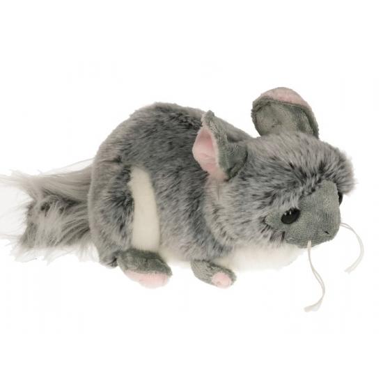 Pluche chinchilla knuffel 20 cm