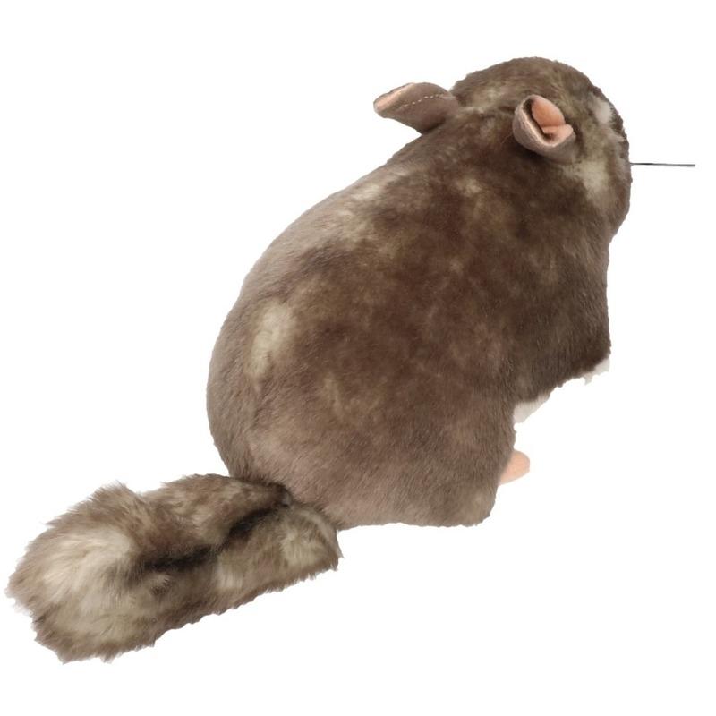 Pluche chinchilla knuffel 23 cm