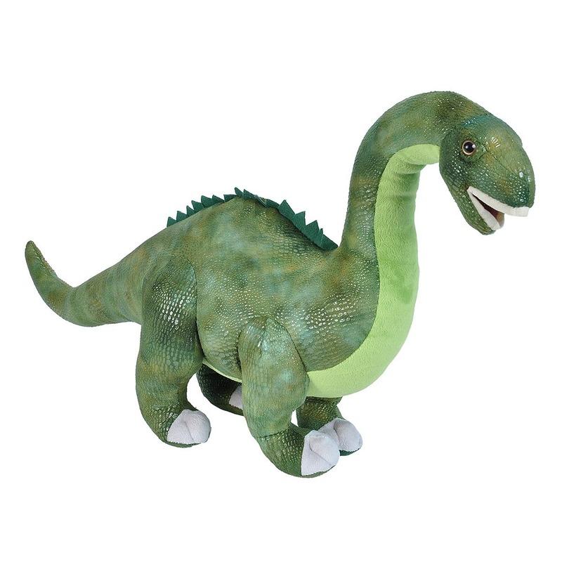 Pluche dinosaurus Diplodocus knuffel mega 63 cm