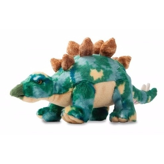 Pluche dinosaurus knuffel Stegosaurus 33 cm