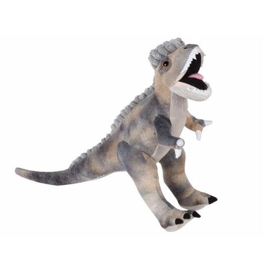 Pluche dinosaurus Velociraptor knuffel 30 cm