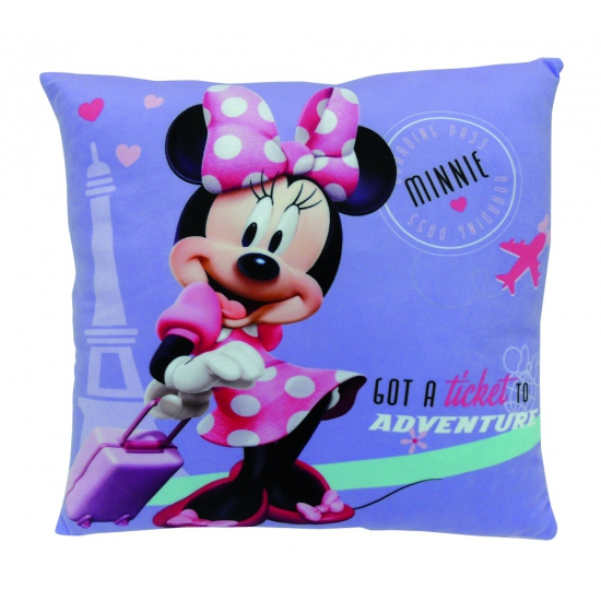 Pluche Disney Minnie Mouse kussens 35 cm