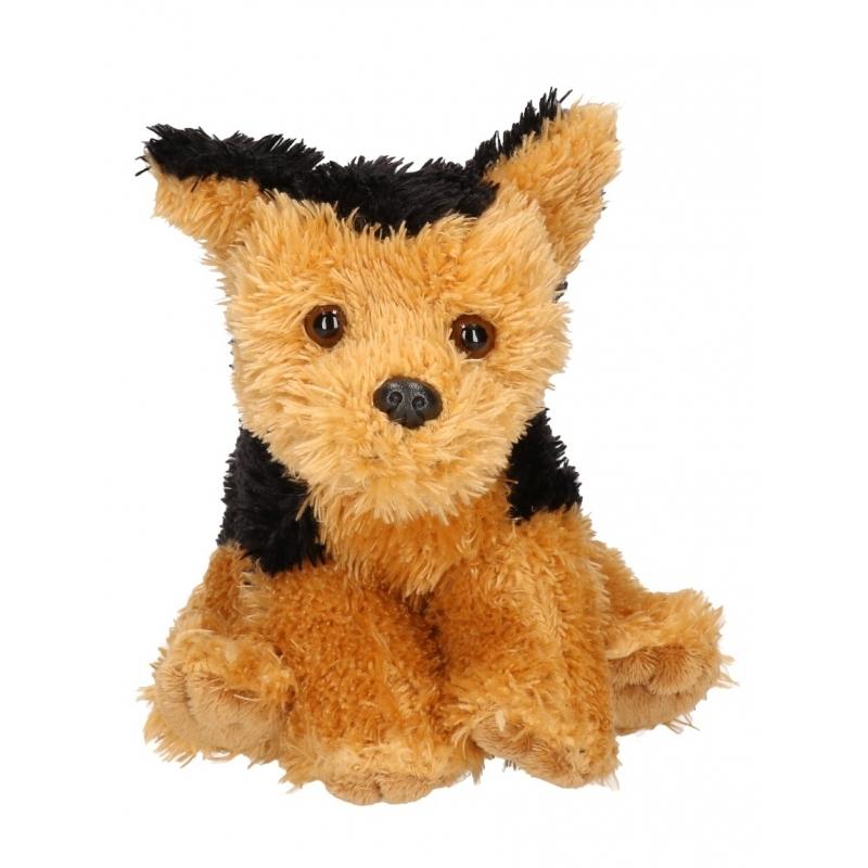 Pluche Fox terrier knuffel 15 cm