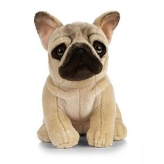 Pluche Franse Bulldog hond/honden knuffel 25 cm speelgoed