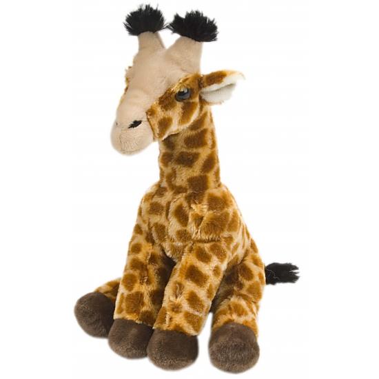 Pluche giraffe knuffeltjes 30 cm
