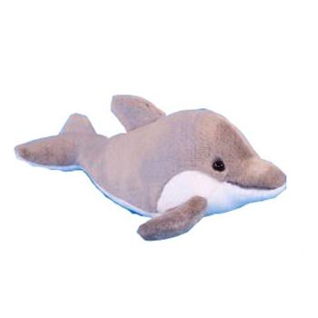 Pluche grijze dolfijnen 31cm