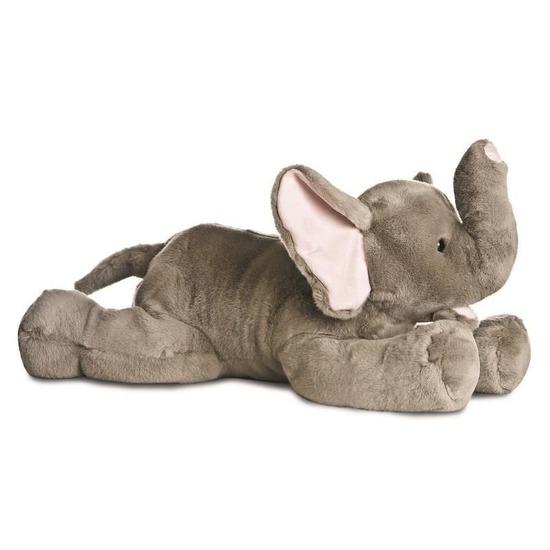 Pluche grijze olifant/olifanten knuffel 70 cm speelgoed