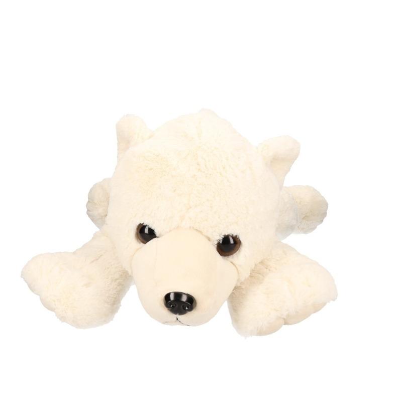 Pluche grote ijsbeer knuffel 57 cm