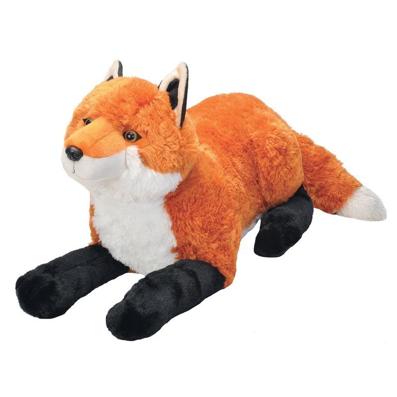 Pluche grote vossen knuffel 64 cm