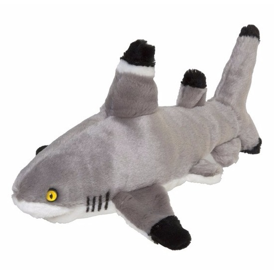Pluche haaien knuffeldieren 30 cm