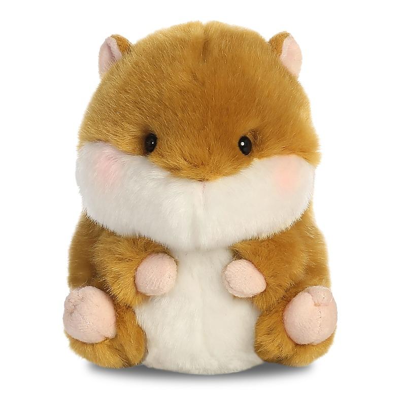 Pluche hamster knuffel 12 cm