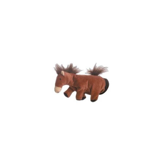Handpoppen Geen Pluche handpop paard 22 cm