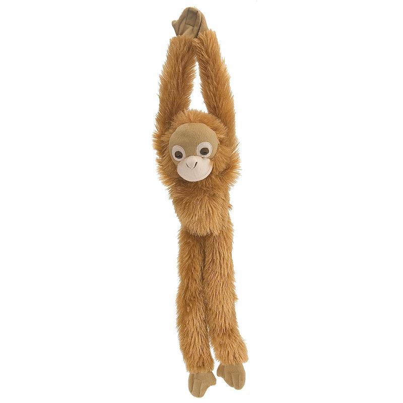 Pluche hangende bruine Orang Oetan aap/apen knuffel 51 cm