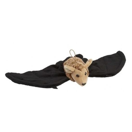 Pluche hangende vleermuis/vleermuizen knuffel 45 cm speelgoed