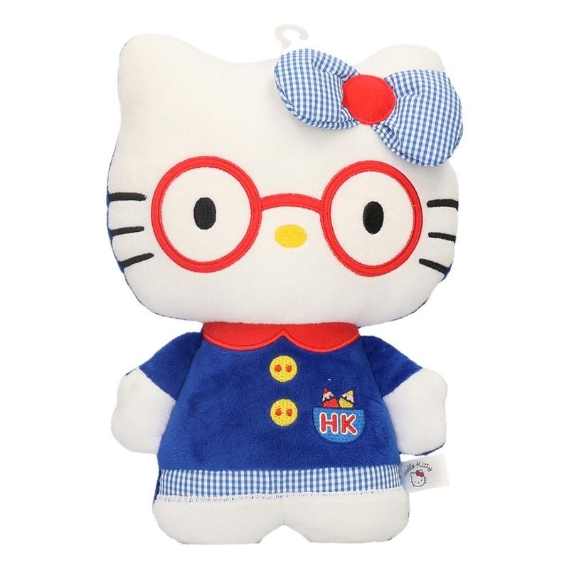 Pluche Hello Kitty met kleding 25 cm