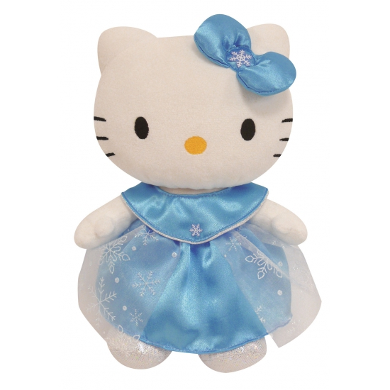 Pluche Hello Kitty met kleding 27 cm
