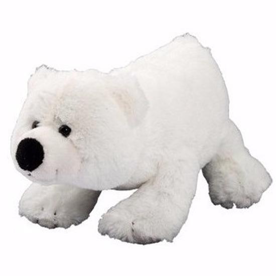 Pluche ijsbeer knuffel 17 cm