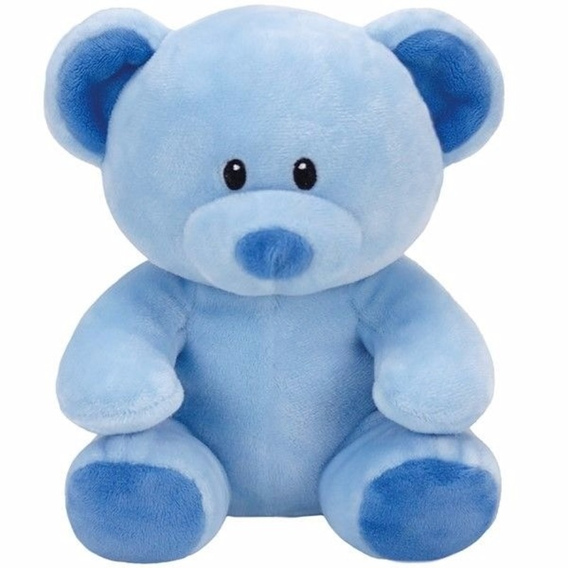 Pluche knuffel blauwe teddybeer Ty Beanie/Baby Lullaby 24 cm