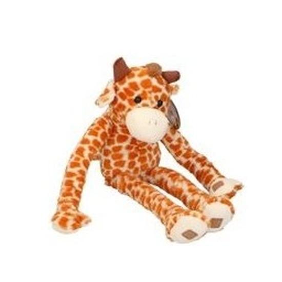Pluche knuffel giraffe van 55 cm