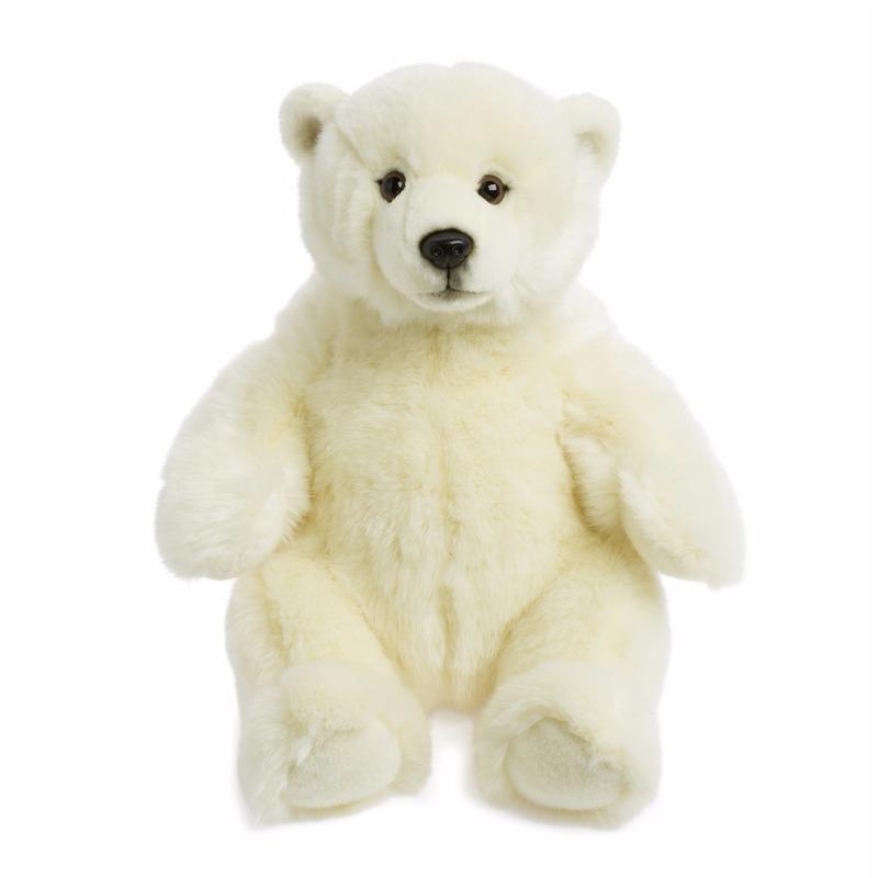Pluche knuffel ijsberen 32 cm