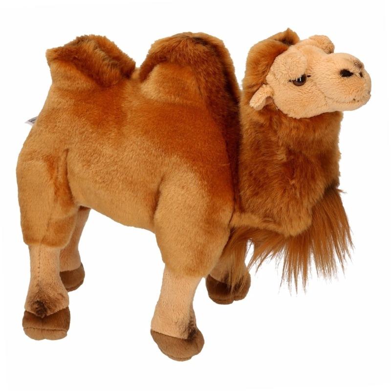 Pluche knuffel kameel 26 cm