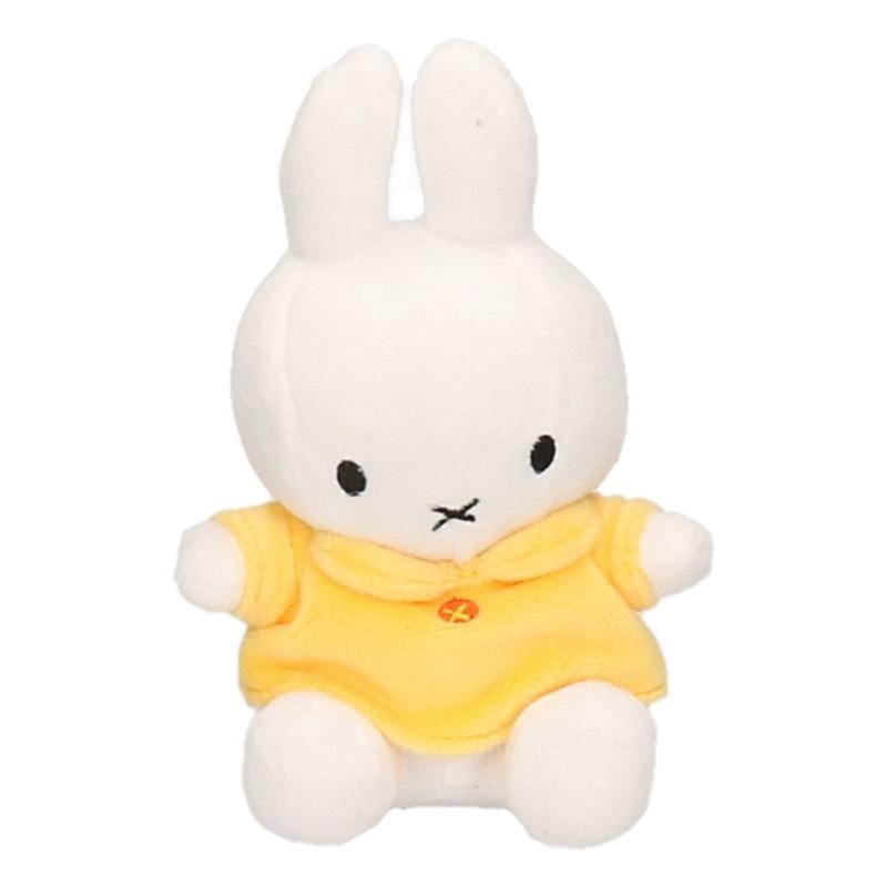 Pluche knuffel Nijntje geel 17 cm